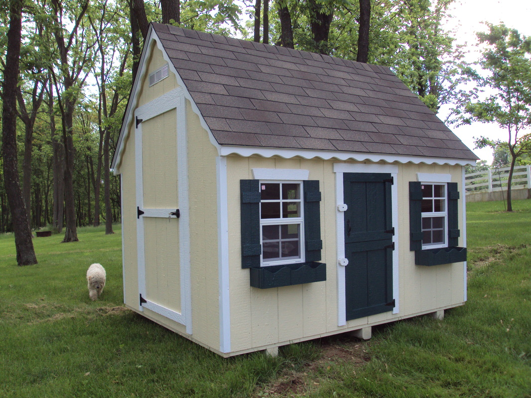 Playhouses best built barns sheds 301 372 1119 for Shed playhouses