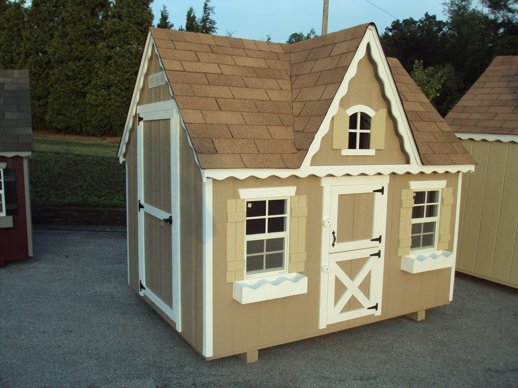 Amish Built Playhouses : Playhouses best built barns sheds